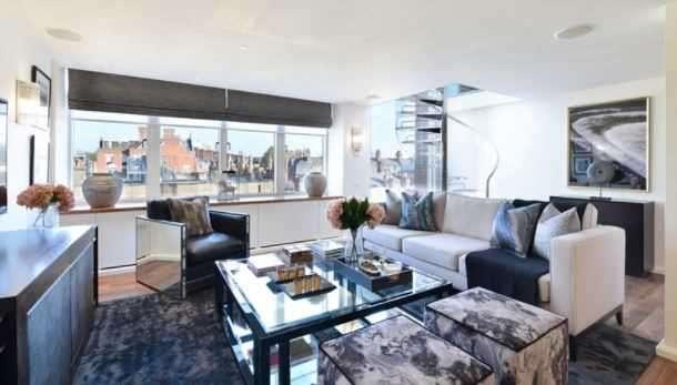 Penthouse in  Young Street  London  W8  Richmond