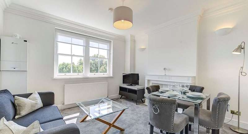 Flat in  Lexham Gardens  London  W8  Richmond