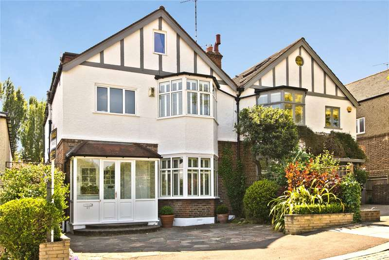 6 Bedrooms Semi Detached House for sale in Marryat Road, Wimbledon Village, London, SW19