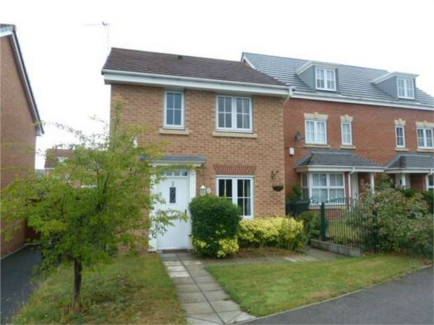 3 Bedrooms Detached House for sale in The Potteries, New Rossington, Doncaster, South Yorkshire