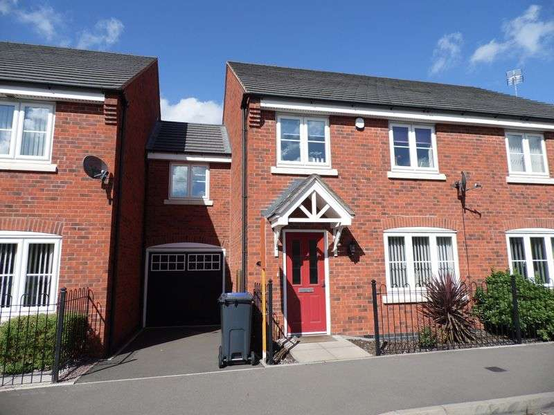 4 Bedrooms Semi Detached House for sale in William Barrows Way, Tipton