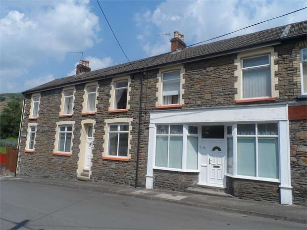 4 Bedrooms Semi Detached House for sale in Station Terrace, Brithdir, NEW TREDEGAR, Caerphilly