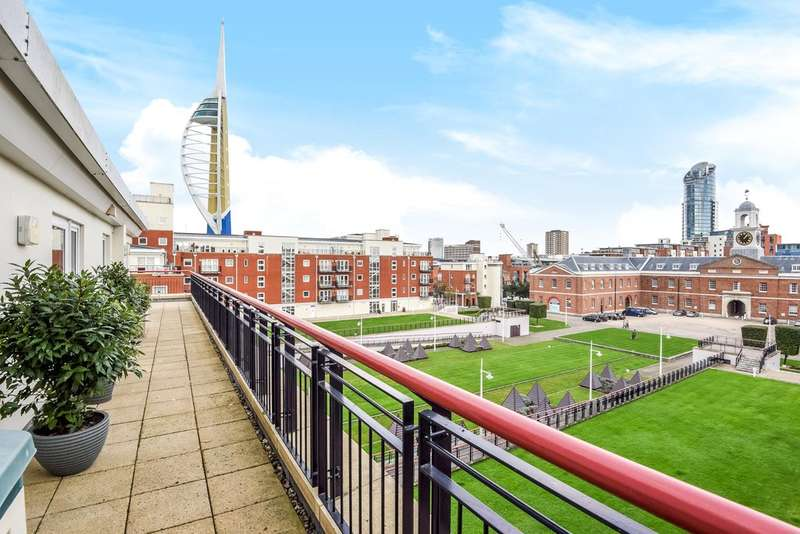 2 Bedrooms Flat for sale in Arethusa House , Gunwharf Quays