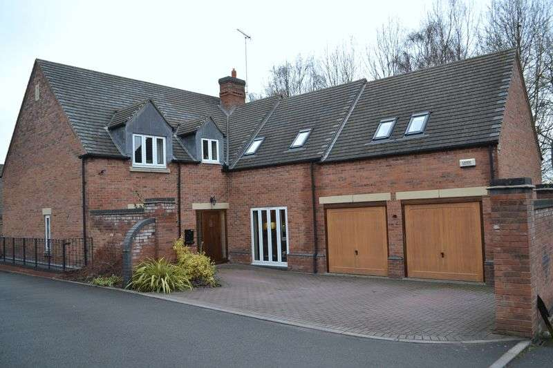 5 Bedrooms Detached House for sale in Overseal, Swadlincote