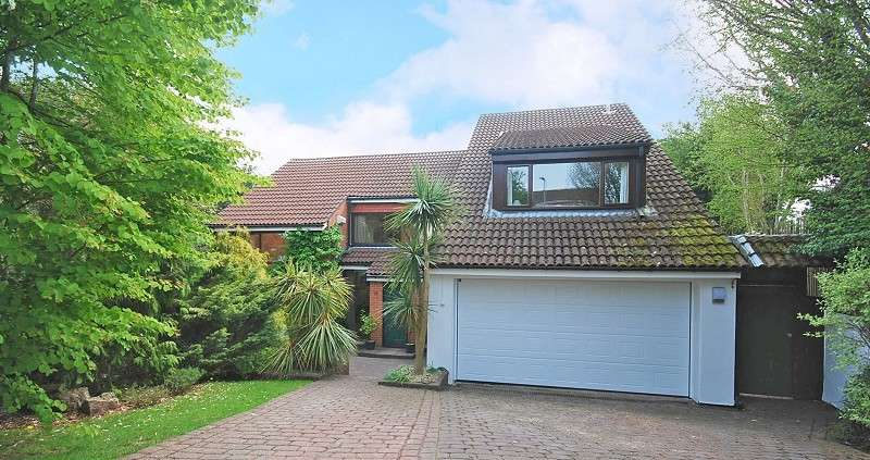 4 Bedrooms Detached House for sale in Cwm-Cwddy Drive, Bassaleg, Newport, Gwent. NP10 8JB