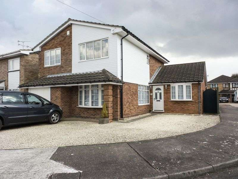 4 Bedrooms Detached House for sale in Marlin Close, Daws Heath