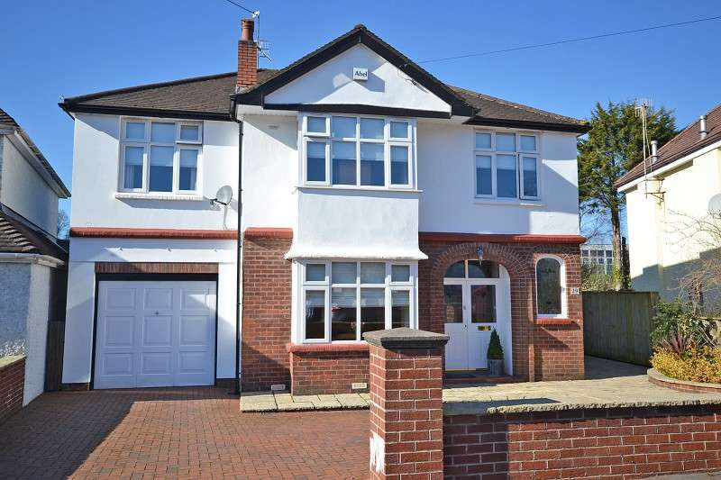 4 Bedrooms Detached House for sale in Court Crescent, Bassaleg, Newport, Gwent. NP10 8NH