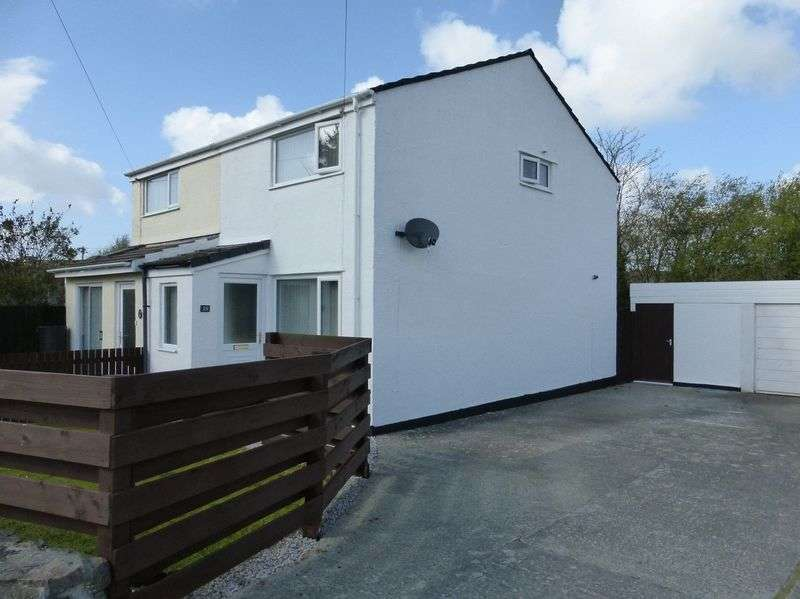 2 Bedrooms Semi Detached House for sale in Gaerwen
