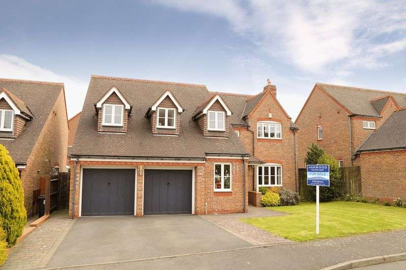 5 Bedrooms Detached House for sale in Coalport Close, Broseley
