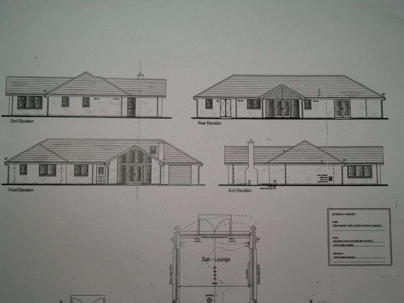 Property for sale in Plot, Tradespark Road, Nairn, IV12 5NF