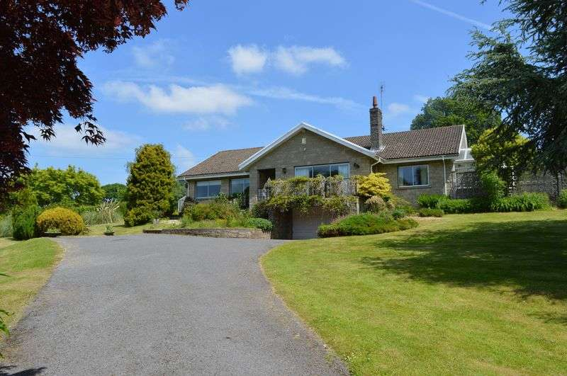 4 Bedrooms Detached Bungalow for sale in Bettws Newydd, Usk