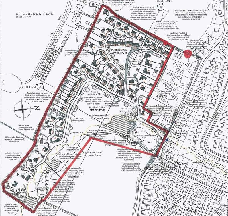 Property for sale in Hall Lane, Burgh le Marsh