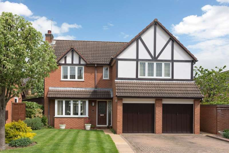 4 Bedrooms Detached House for sale in Strachey Avenue, Leamington Spa
