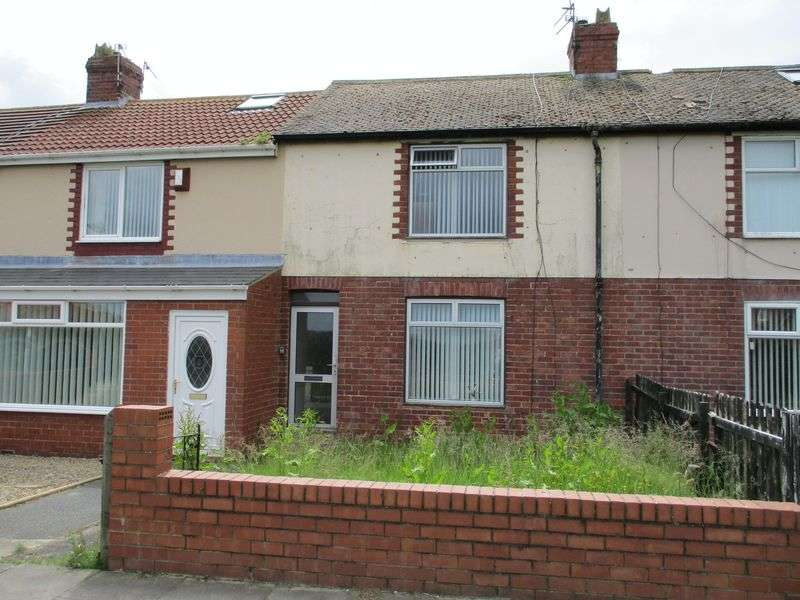 3 Bedrooms Terraced House for sale in Holmwood Avenue, Newbiggin-By-The-Sea