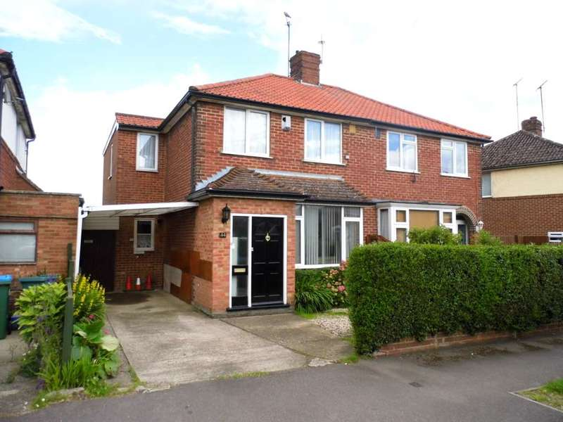 4 Bedrooms Semi Detached House for sale in Abbey Road, Aylesbury