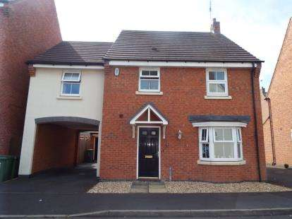 4 Bedrooms Detached House for sale in Pitchcombe Close, Redditch, Worcestershire