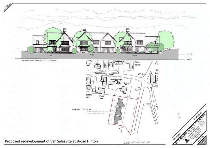 Land Commercial for sale in Broad Hinton