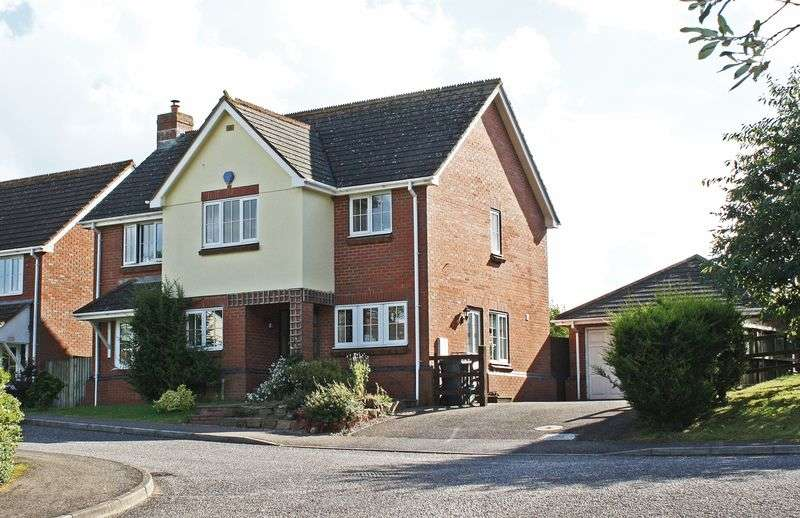 4 Bedrooms Detached House for sale in Marles Close, Honiton