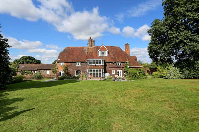 5 Bedrooms Detached House for sale in Pookbourne Lane, Sayers Common, Hassocks, West Sussex, BN6