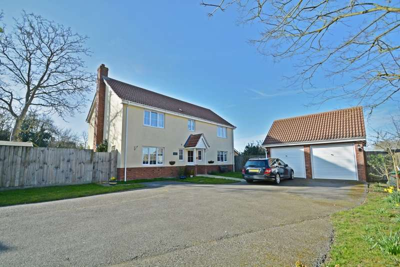 4 Bedrooms Detached House for sale in Spring Close, Gislingham