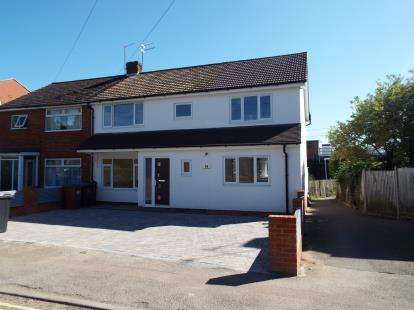 4 Bedrooms Semi Detached House for sale in Tolmers Road, Cuffley, Potters Bar, Hertfordshire