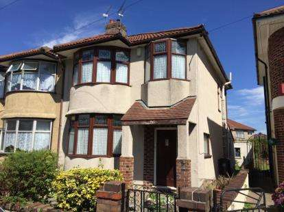 3 Bedrooms Semi Detached House for sale in Oldbury Court Road, Fishponds, Bristol