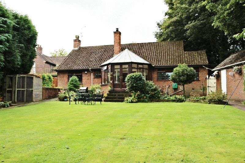 4 Bedrooms Detached Bungalow for sale in The Green, Bagnall
