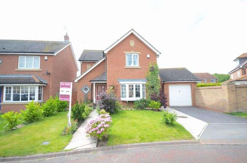 3 Bedrooms Detached House for sale in Weybourne Lea, East Shore Village, Seaham
