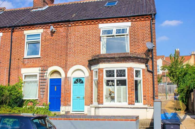 2 Bedrooms End Of Terrace House for sale in Marlborough Road, Norwich, NR3