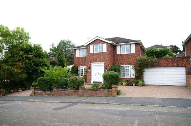 4 Bedrooms Detached House for sale in 16 Lynwood Chase, Bracknell, Berkshire, RG12 2JT
