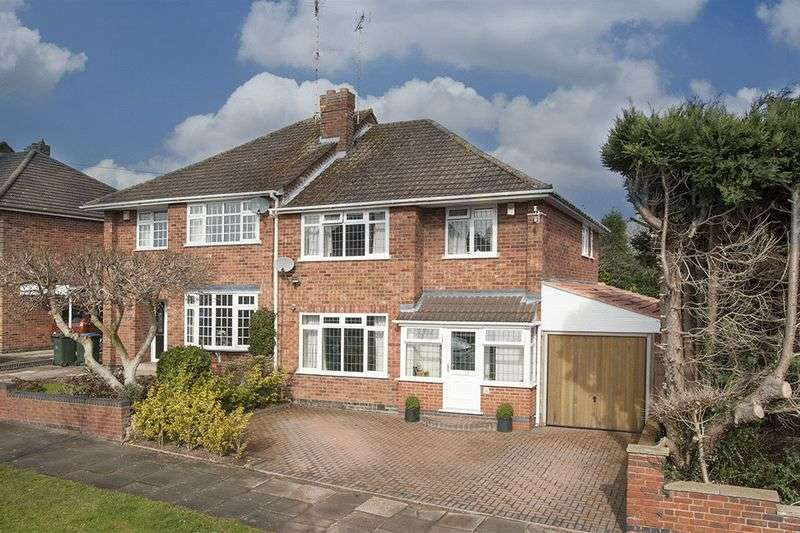 3 Bedrooms Semi Detached House for sale in Sefton Road, Cannon Hill, Coventry