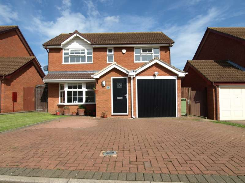 5 Bedrooms Detached House for sale in Stanmore Gardens, Newport Pagnell, Buckinghamshire