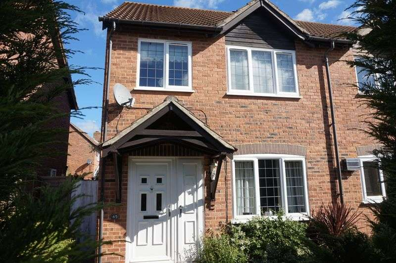3 Bedrooms Semi Detached House for sale in Wheelers Green Way, Thatcham