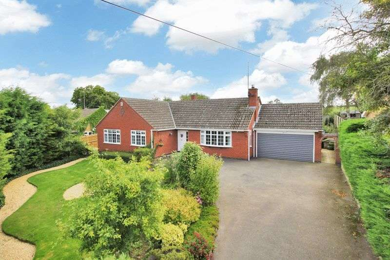 4 Bedrooms Detached Bungalow for sale in Braybrooke, Market Harborough