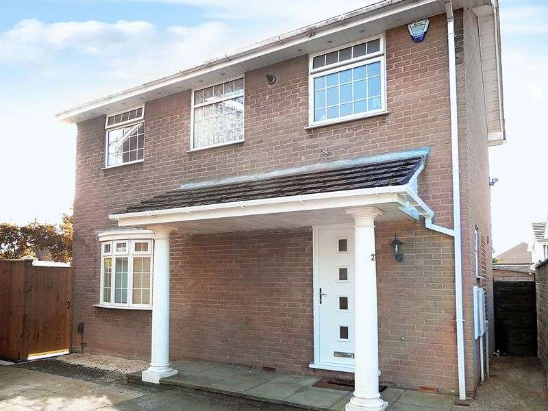 3 Bedrooms Detached House for sale in Footshill Close, Bristol