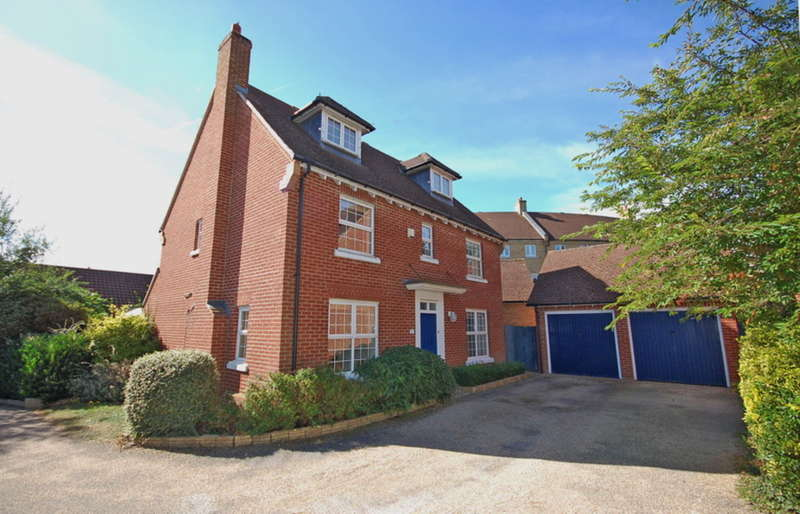 4 Bedrooms Detached House for sale in Osmond Close, Black Notley, Braintree, CM77