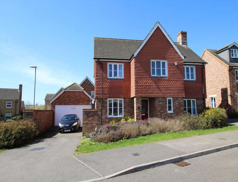 4 Bedrooms Detached House for sale in Peacock Road, Bromham, Bedford, MK43