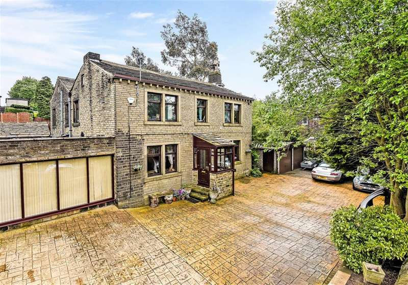 5 Bedrooms Detached House for sale in Tanyard Road, Oakes, Huddersfield, HD3 4YW