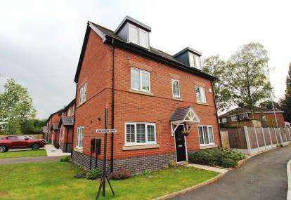 4 Bedrooms Detached House for sale in Chandler Close, Manchester, Greater Manchester