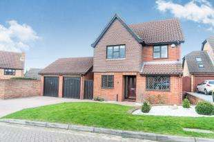 4 Bedrooms Detached House for sale in Beaton Close, Greenhithe, Kent